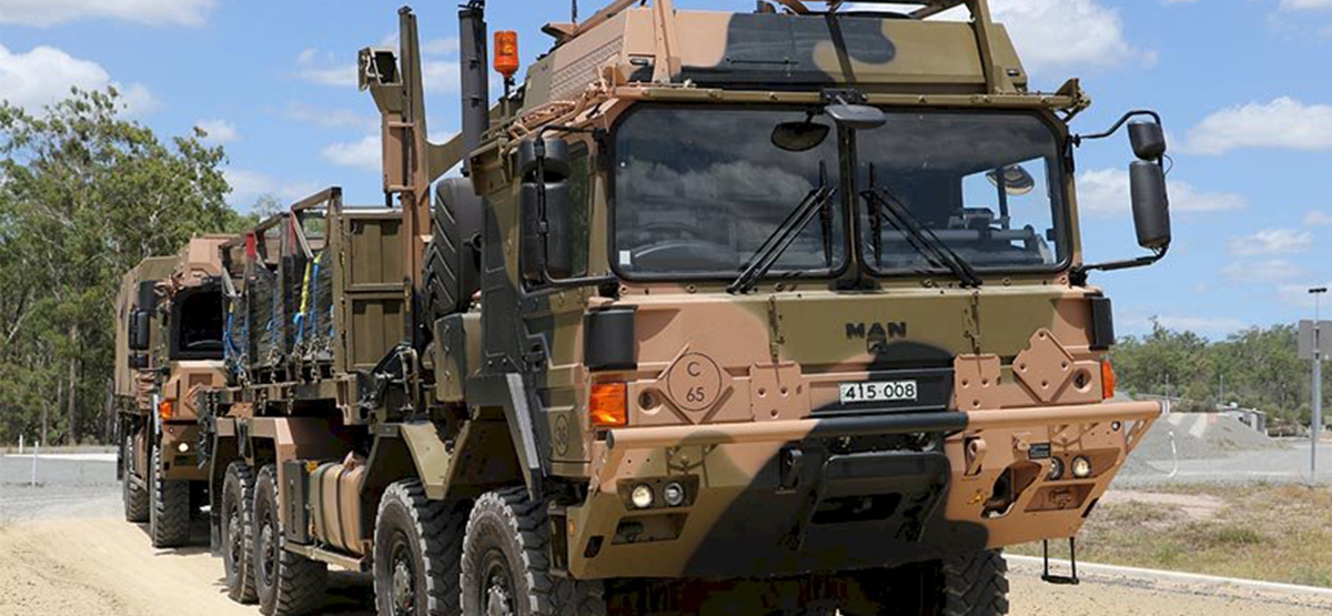 IOC achieved for Australian Defence Force's next-gen logistics vehicles